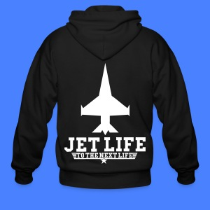 Jet Life To The Next Life Zip Hoodies/Jackets - stayflyclothing.com - Men's Zip Hoodie