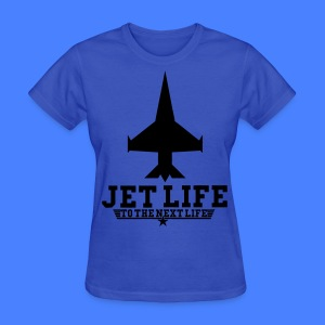 Jet Life To The Next Life Women's T-Shirts - stayflyclothing.com - Women's T-Shirt
