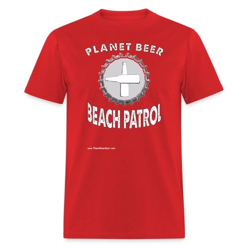 Planet Beer Beach Men's Patrol T-Shirt - Men's T-Shirt