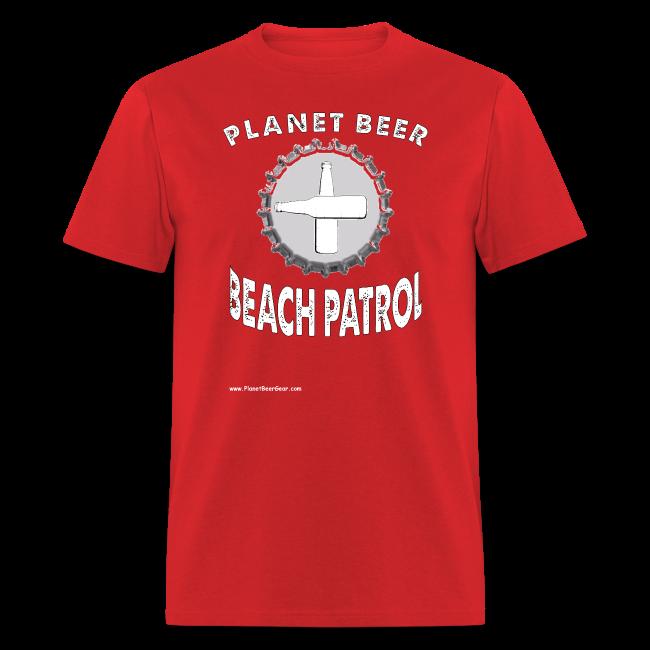 Planet Beer Beach Men's Patrol T-Shirt