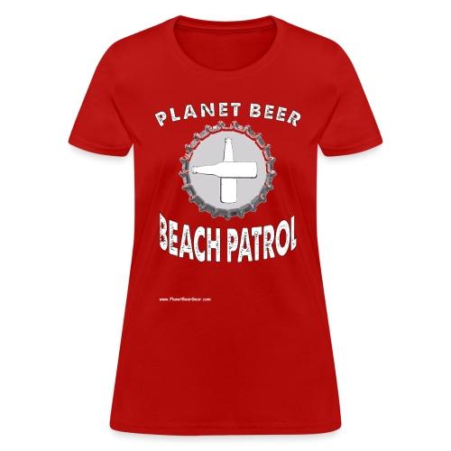 Planet Beer Beach Patrol Women's T-Shirt - Women's T-Shirt