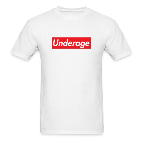UNDERAGE SHIRT - Men's T-Shirt