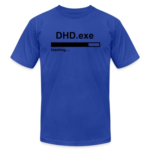 DHD.exe Loading - Men's Fine Jersey T-Shirt