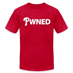 Pwned - Men's T-Shirt by American Apparel