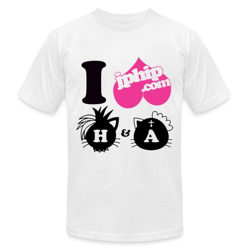 I luv hANGRY & ANGRY - Men's Fine Jersey T-Shirt