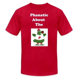 Phanatic About - Men's T-Shirt by American Apparel