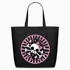 Cute Skull and Crossbones Bags