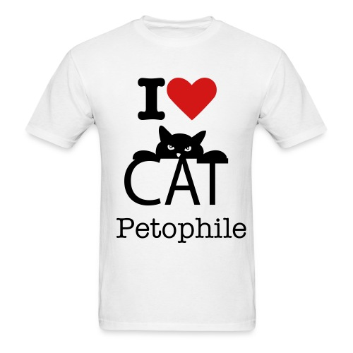 Petophile - Men's T-Shirt