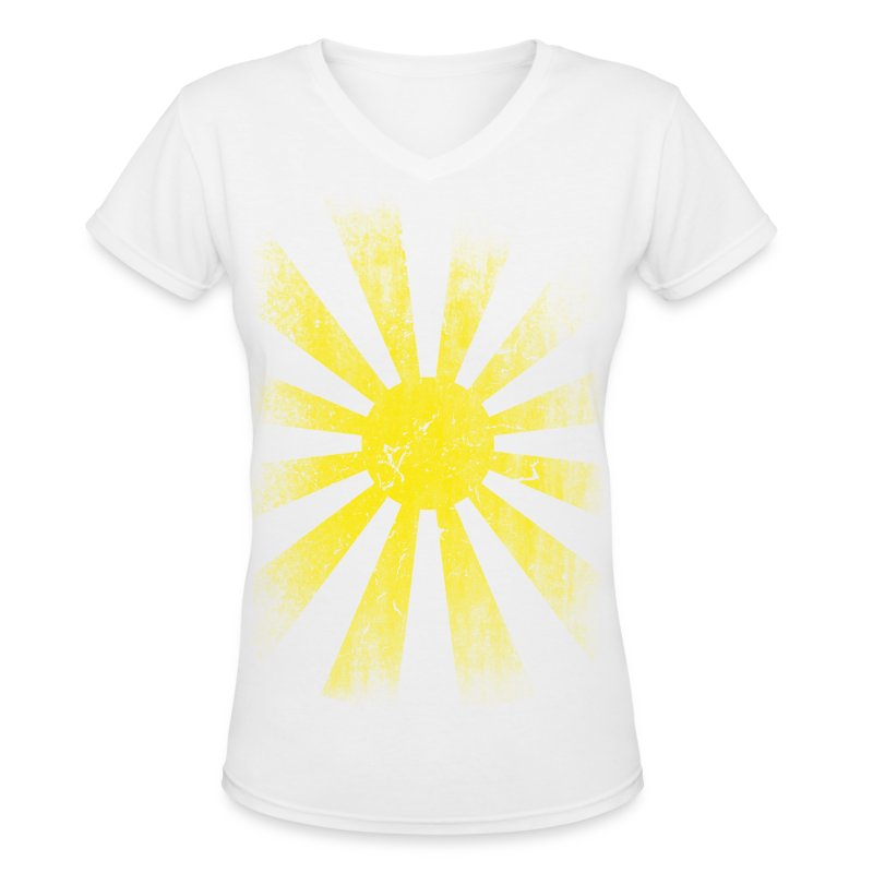Solar V-Neck - Women's V-Neck T-Shirt