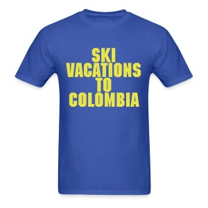 Ski Vacations To Colombia - Men's T-Shirt