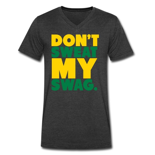 Don't sweat my Swag. - Men's V-Neck T-Shirt by Canvas