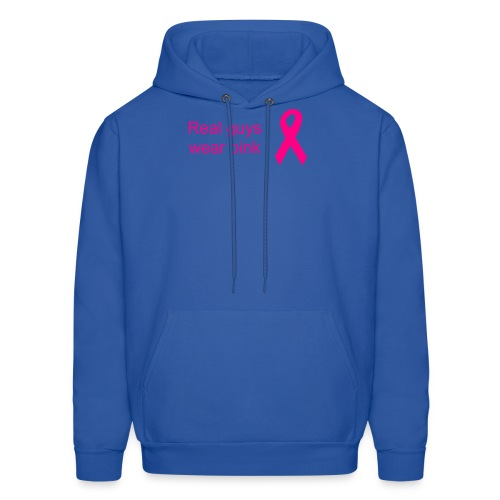 Real guys wear pink - Men's Hoodie