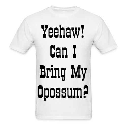 Opossum - Men's T-Shirt