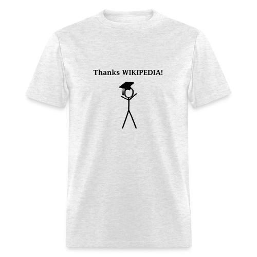 Thanks Wikipedia - Men's T-Shirt