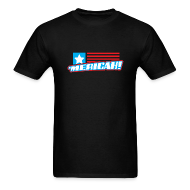 T-Shirts ~ Men's T-Shirt ~ 'MERICAH! Flag Mens Tee