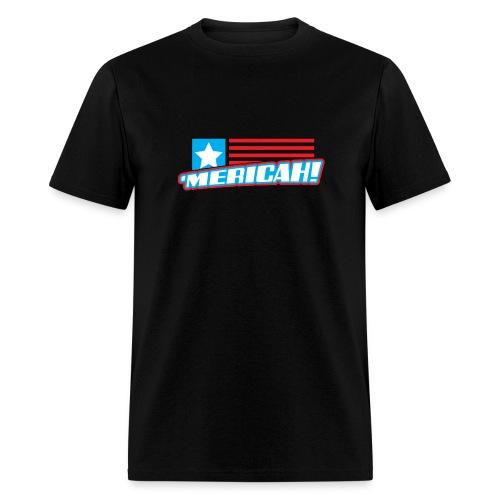 'MERICAH! Flag Mens Tee - Men's T-Shirt