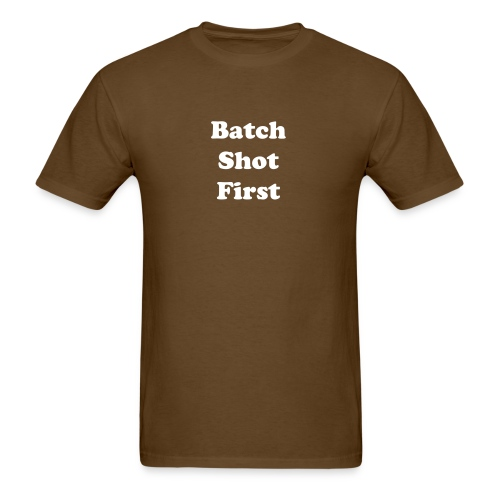 Batch Shot First Standard Weight T-Shirt - Men's T-Shirt
