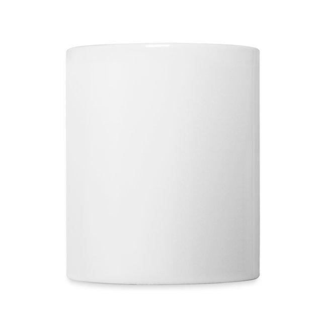 Wake Up Fabulous Mug - Porcelain White