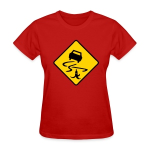 Slippery When Banana - Women's T-Shirt