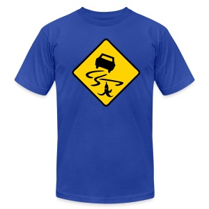 Slippery When Banana - Men's T-Shirt by American Apparel