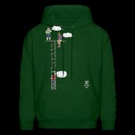 Hoodies ~ Men's Hoodie ~ Overhanging Cliff Sweatshirt - XL