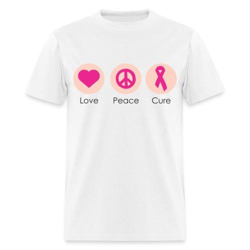 Love Peace Cure - Men - Men's T-Shirt
