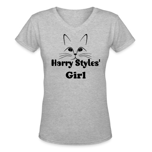 Harry Styles' Girl - Women's V-Neck T-Shirt