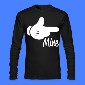 Mine Pointing RIght Long Sleeve Shirts - stayflyclothing.com - Men's Long Sleeve T-Shirt by Next Level