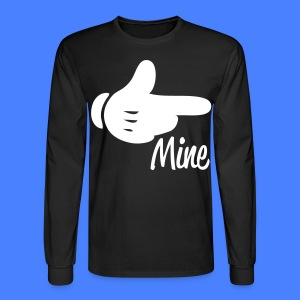 Mine Pointing RIght Long Sleeve Shirts - stayflyclothing.com - Men's Long Sleeve T-Shirt