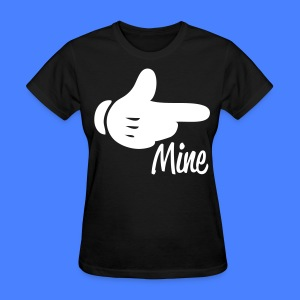 Mine Pointing RIght Women's T-Shirts - stayflyclothing.com - Women's T-Shirt