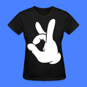 Rock Out Hand Women's T-Shirts - stayflyclothing.com - Women's T-Shirt