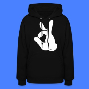 Rock Out Hand Hoodies - stayflyclothing.com - Women's Hoodie