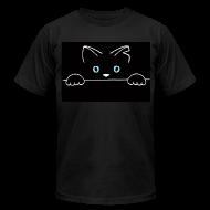 T-Shirts ~ Men's T-Shirt by American Apparel ~ Spiggitz Black T-Shirt