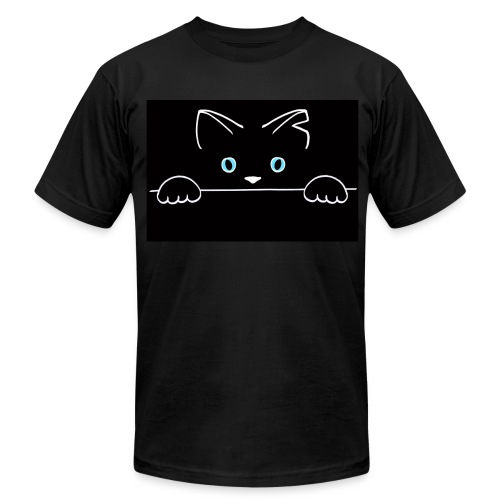 Spiggitz Black T-Shirt - Men's T-Shirt by American Apparel