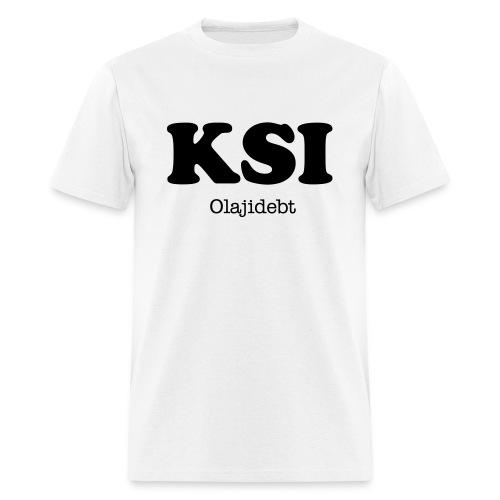 KSI Olajidebt (White) - Men's T-Shirt