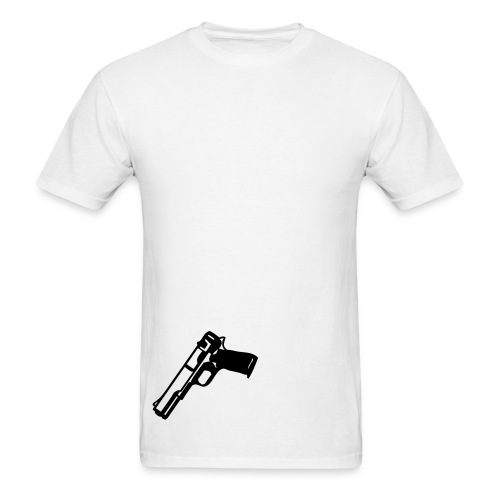 Gun Tuck In - Men's T-Shirt