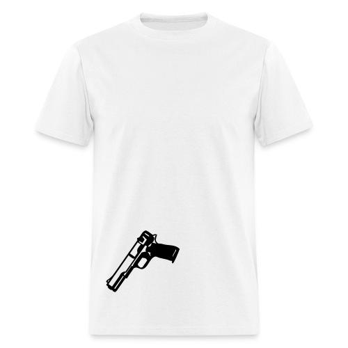 Gun Tuck In - Men's T-Shirt