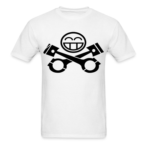 Men's T-Shirt - Piston Smile