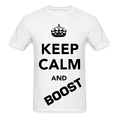 Men's T-Shirt - Keep Calm and Boost
