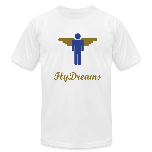 Fly Dreams Fllyman tee - Men's Fine Jersey T-Shirt