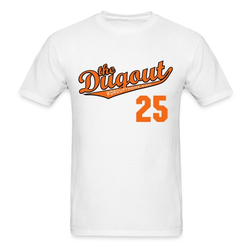 WordUpThome #25 (Jim Thome) Orioles Dugout T - Men's T-Shirt