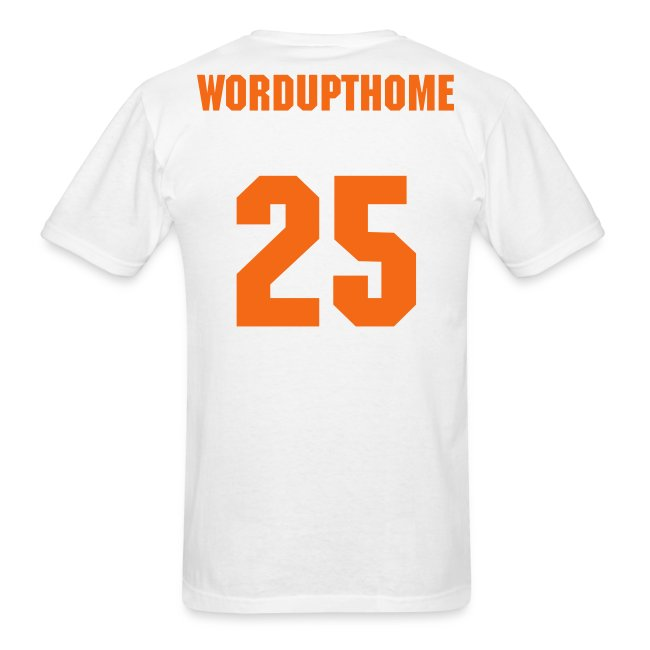 WordUpThome #25 (Jim Thome) Orioles Dugout T