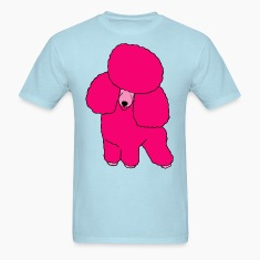 Pink Poodle T-Shirts