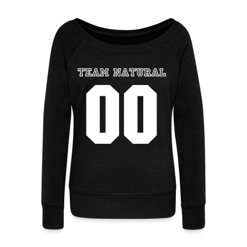 Wideneck Sweatshirt Team Natural - Women's Wideneck Sweatshirt