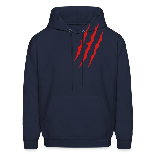 chest claw - Men's Hoodie