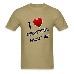 I Love Everything About Me - Men's T-Shirt