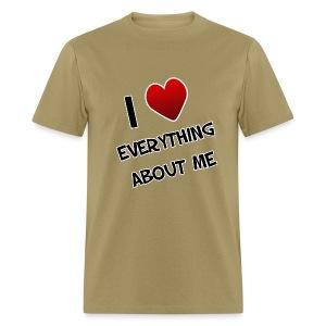 I Love Everything About Me. TM  Mens Shirt - Men's T-Shirt