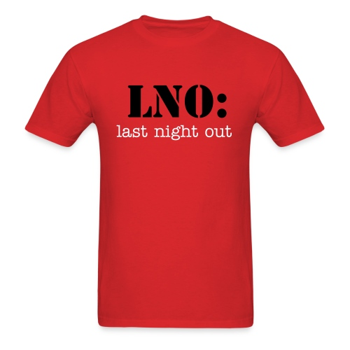 Bachelor's LNO - Men's T-Shirt