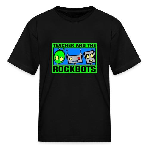 Teacher and the Rockbots - Kids' T-Shirt