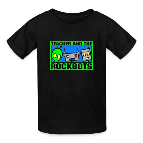 Teacher and the Rockbots - Kids' T-Shirt